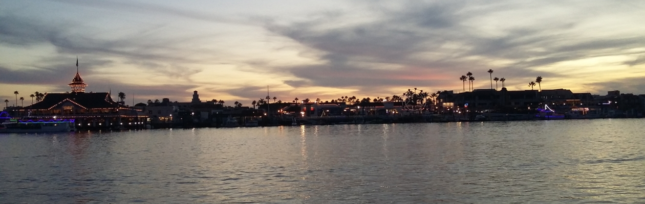 Sunset at Balboa Island - Riverbanks Media is proud to offer video services in Southern Oregon