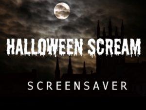 Halloween Scream screensaver for Roku
