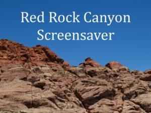 Red Rock Canyon screensaver