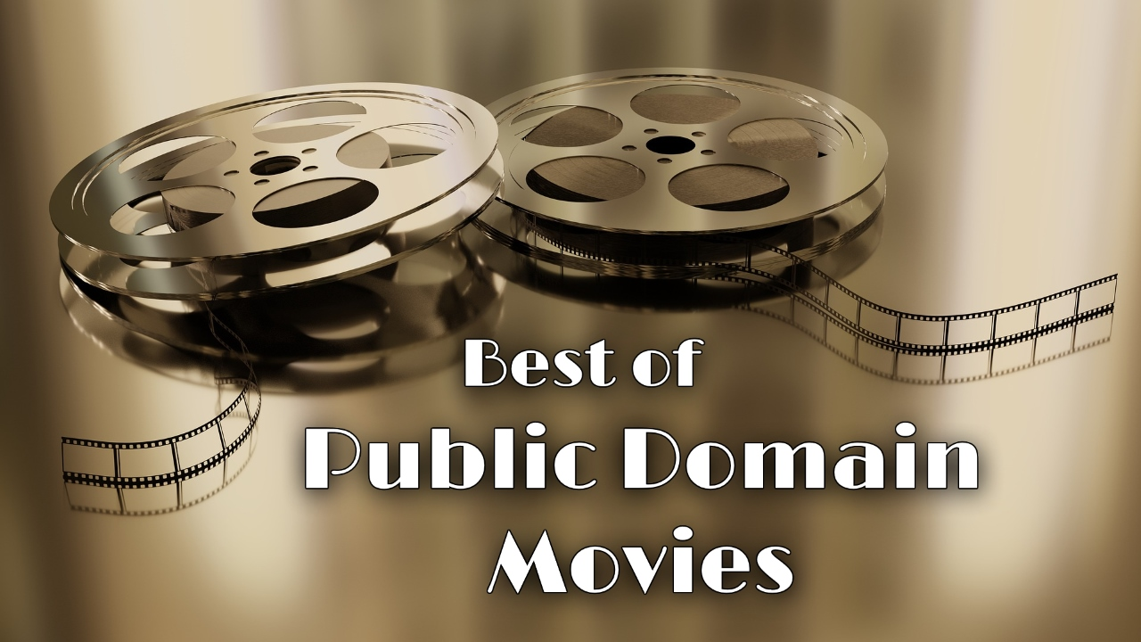 Best of Public Domain Movies Splash Logo